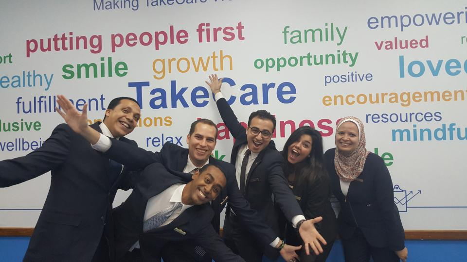 Celebrating Marriott's TakeCare culture!
