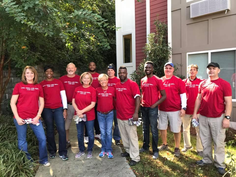 National Day of Caring Charlotte - Mccresh Place