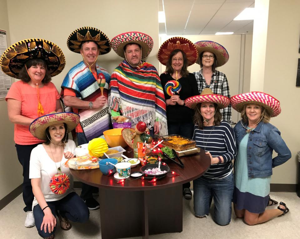 Minneapolis Branch gets festive for Cinco de Mayo