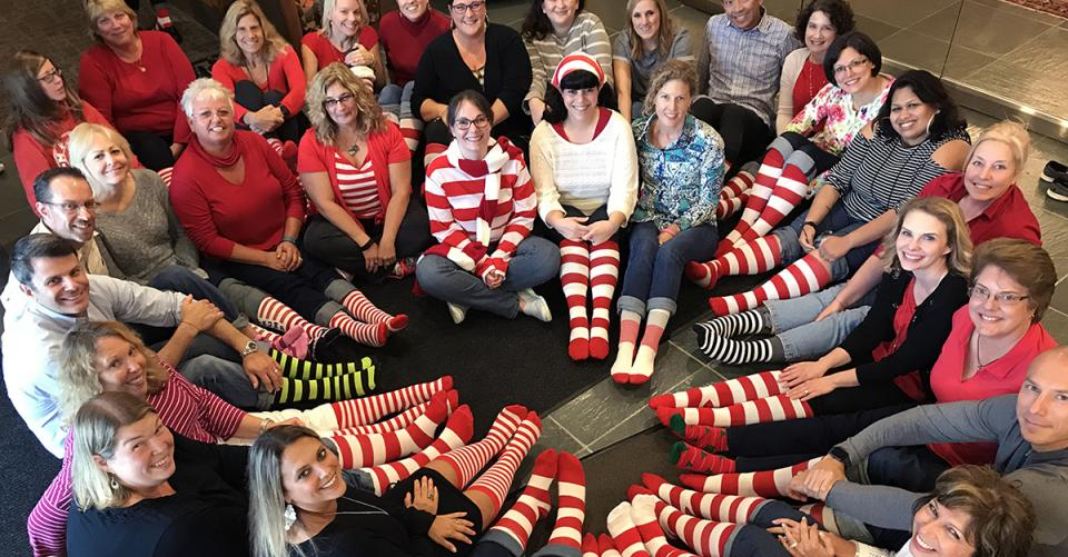 Citadel Employees Show Their Stripes!