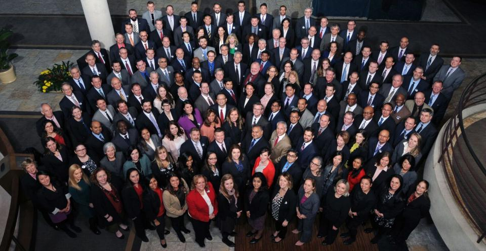 Company Photo at Annual Plan Meeting