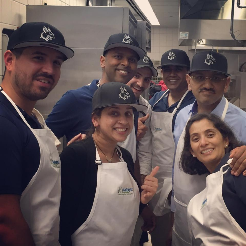 Cool Beans Squad at Culinary Care's Cook-Off