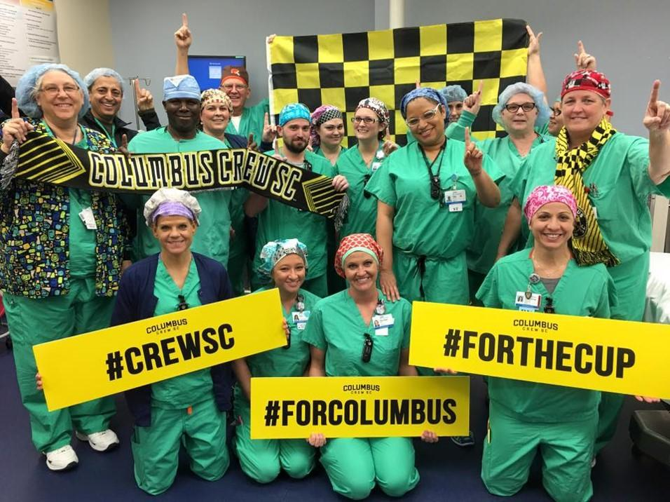 Associates Have Fun with the Columbus Crew