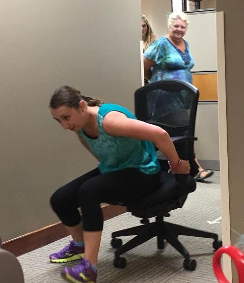 Chair Race - Office Olympics