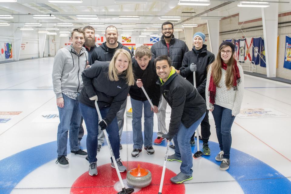 Curling Team Build 2017