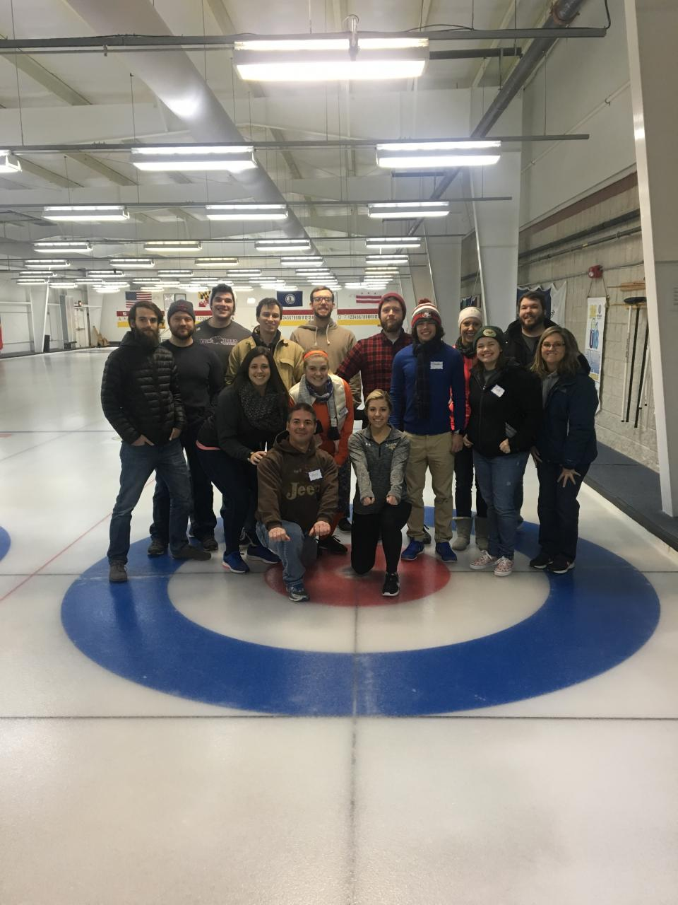 Team Building 2018 - Curling