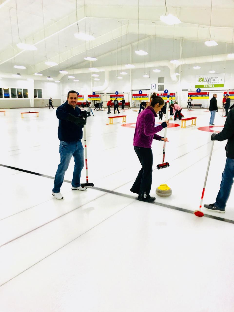 Curling Event