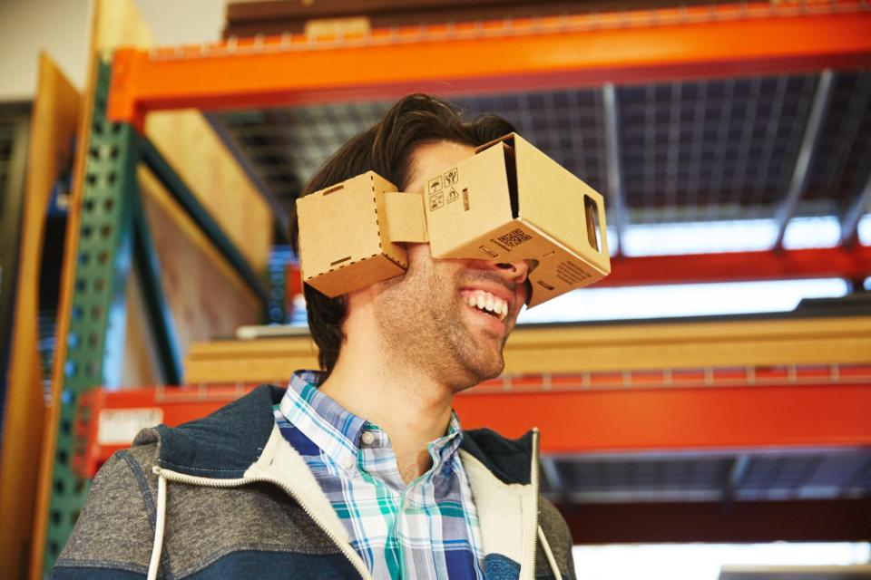 What started as a 20% project for Googlers is now a full-fledged effort to bring virtual reality to the masses through our Cardboard viewer.