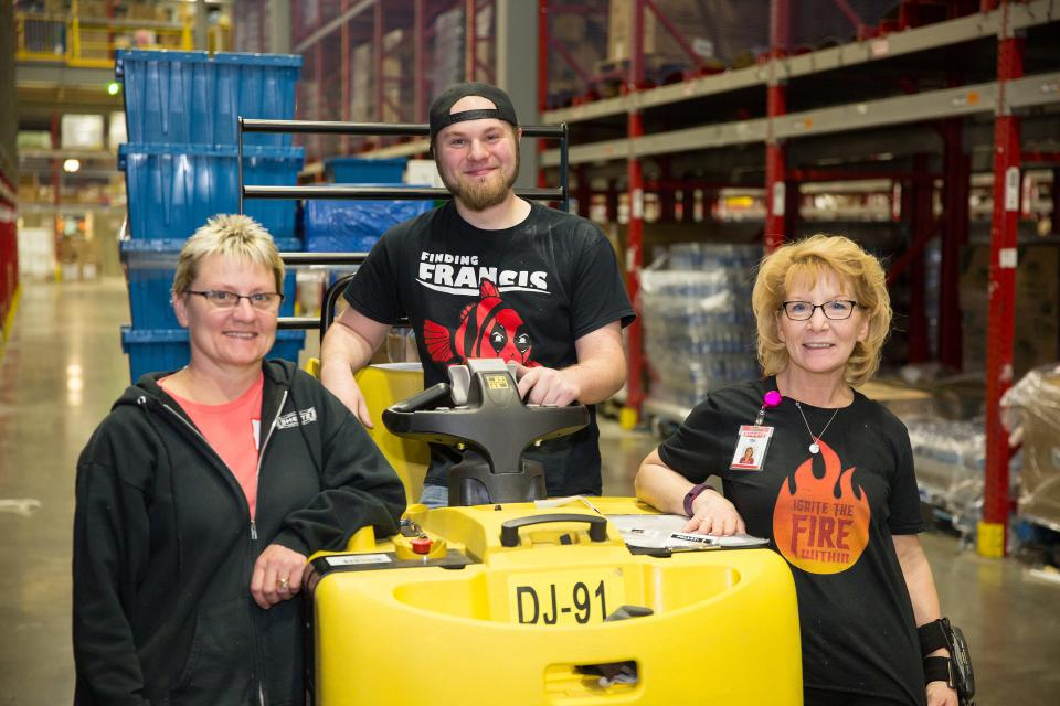 Team members at our Sheetz Distribution Center in Claysburg, Pennsylvania.
