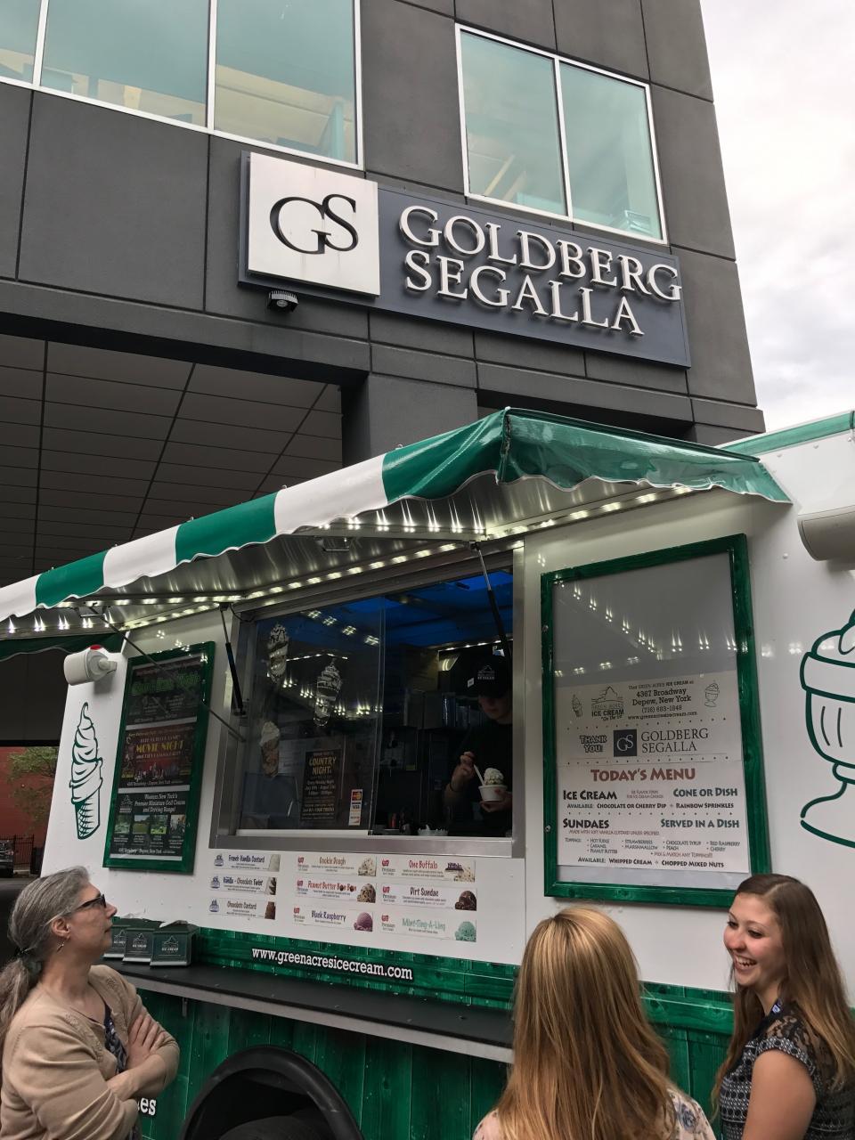 Goldberg Segalla employees enjoying 2017's