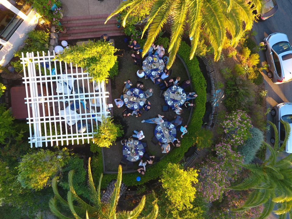 2017 Summer BBQ Photo From Drone