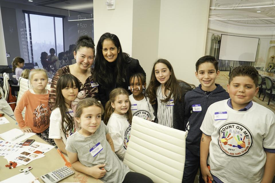 Take Our Daughters and Sons to Work Day in BAM's New York City office
