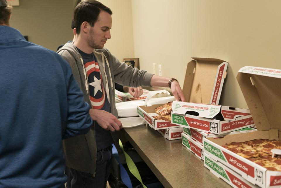 Employee Appreciation Pizza Party