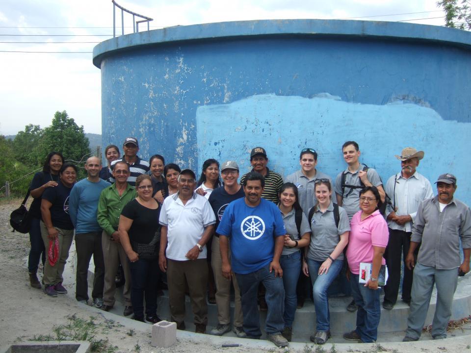 El Salvador water project