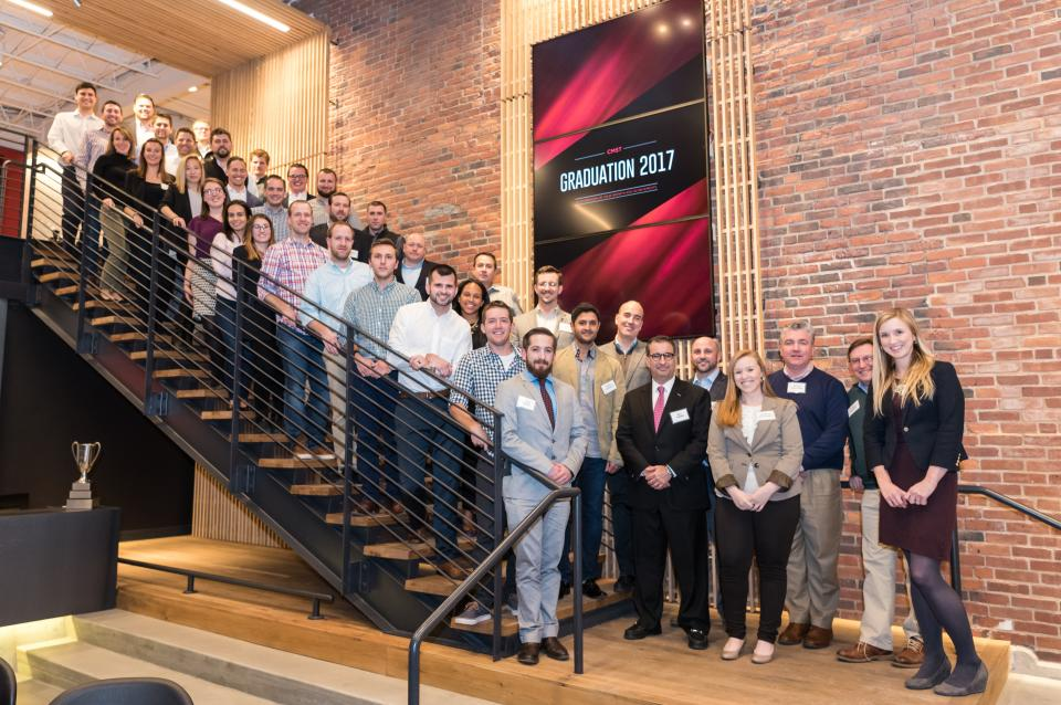 2017 graduates of Shawmut's CMST program