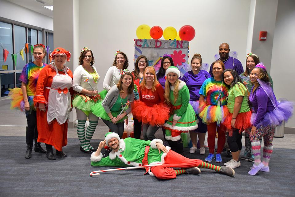 Torch Volunteers Ready for Fun at the Children's Christmas Party!