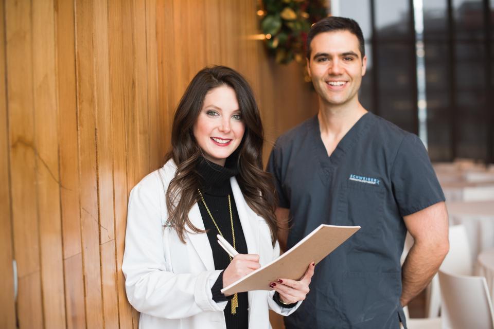 Sari Katz, PA-C with Dr. Jeremy Fenton