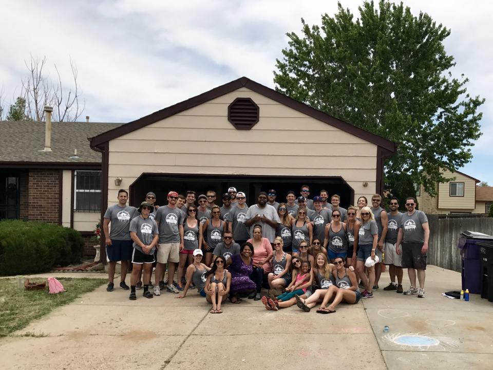 Denver Office - helping out in the community