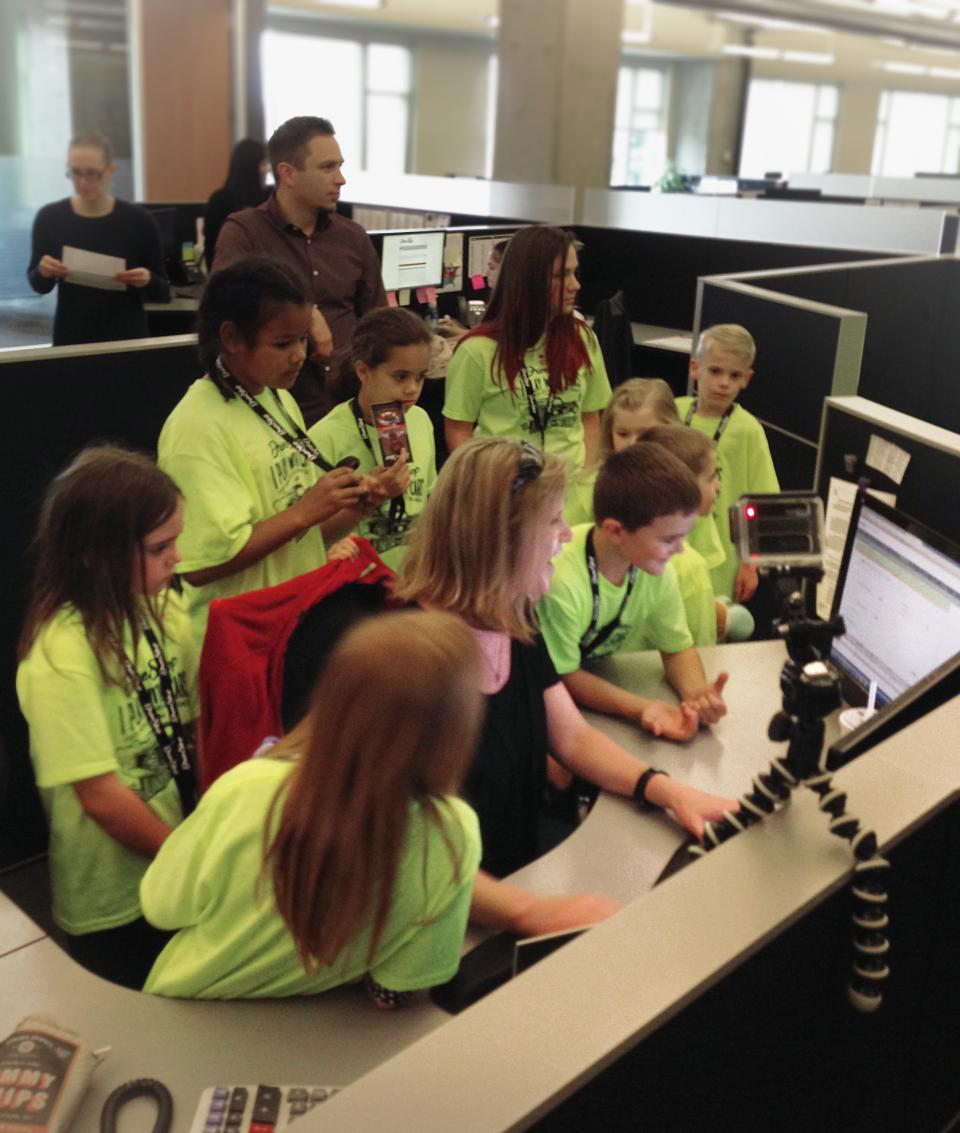 First Annual Junior Influencer Day (Bring Your Kid to Work Day) -
