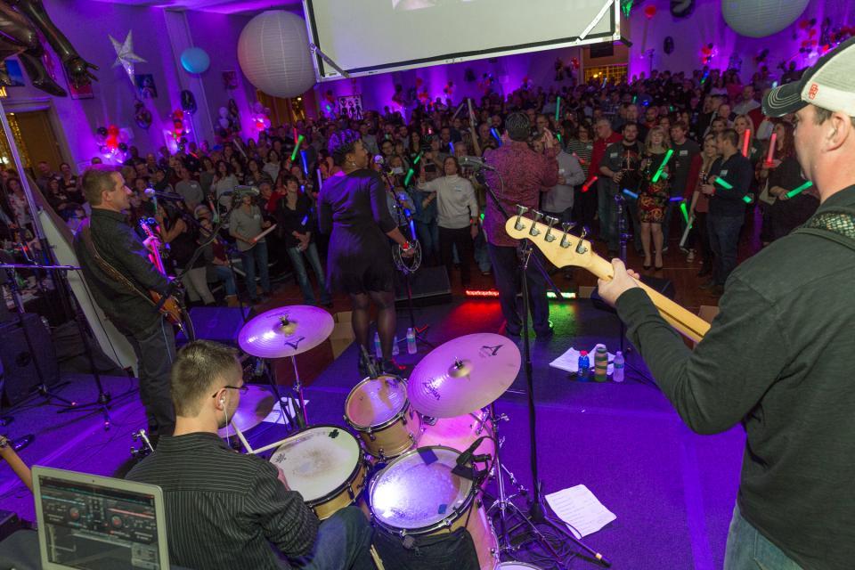 ESL's house band rocking the Annual Celebration!