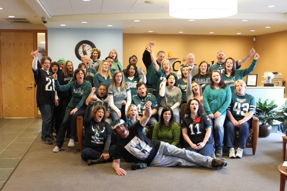 Citadel Employees Show Team Spirit!