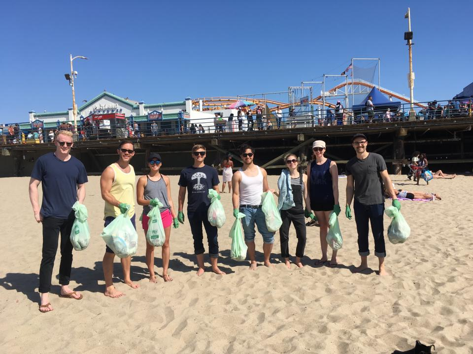 Earth Day Beach Clean Up
