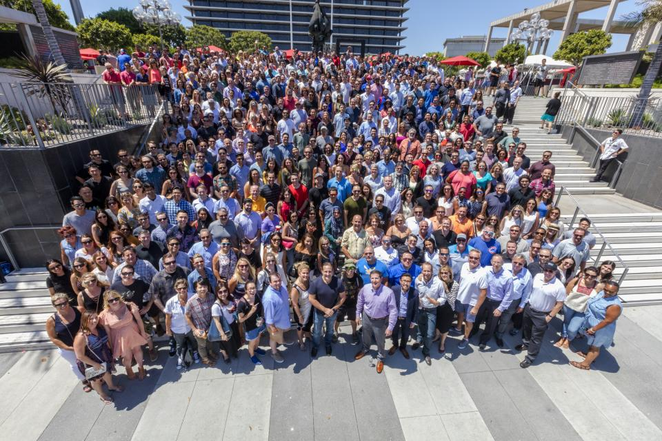 Every 6 months, all team members gather in Santa Monica for All-Company Meeting Weeks. During this time, we have presentations, parties, and productive meetings where we review the past 6 months and plan for the coming year. These fun-filled weeks are always an employee