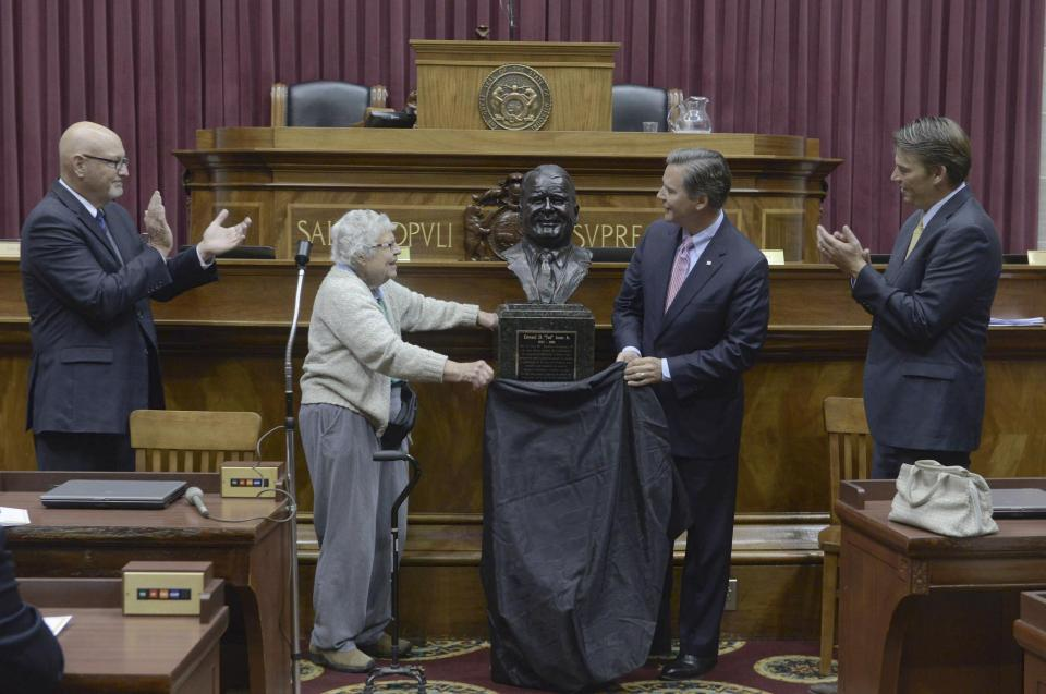 Ted Jones Inducted into the Hall of Famous Missourians in Jefferson City, MO