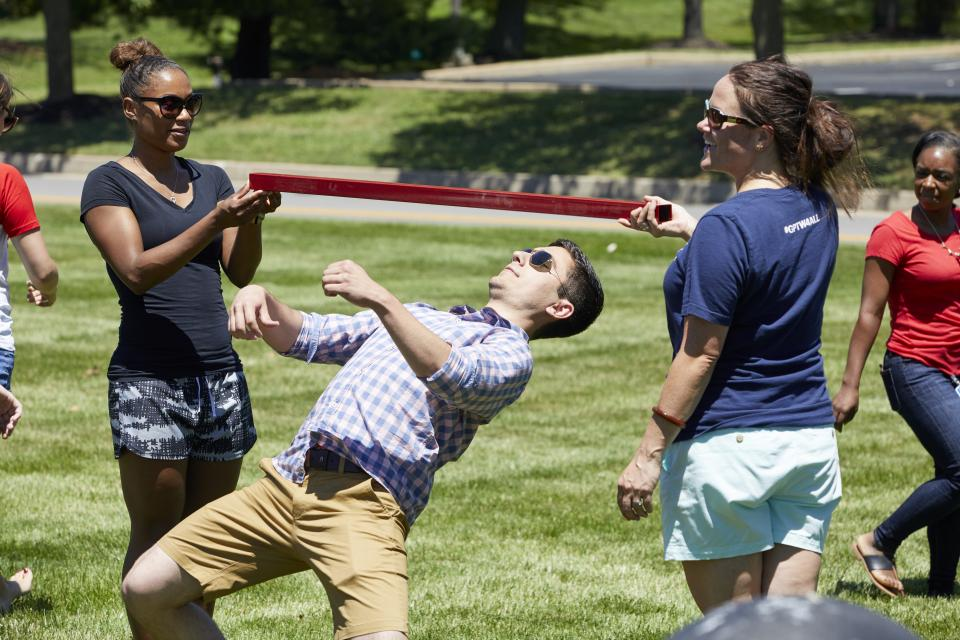 Limbo Contest at the Annual Summer Picnic