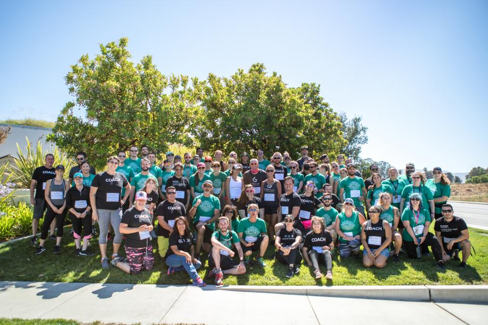 MINDBODY Wellness Challenge - Group Photo