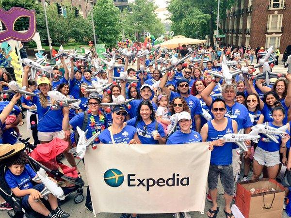 Expedia Celebrates Pride Day