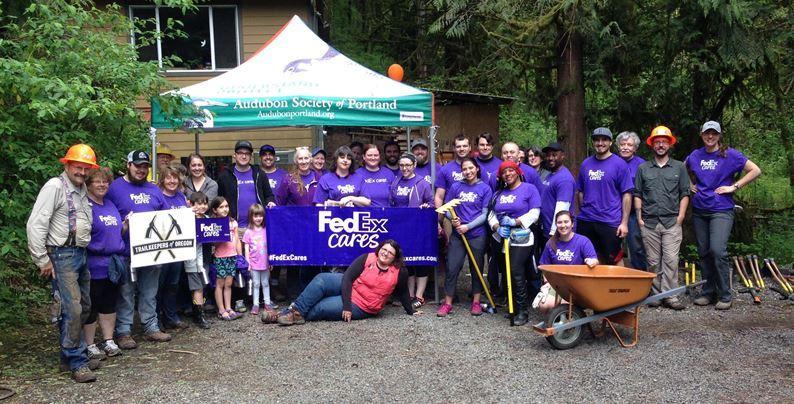 FedEx Cares Audubon Society