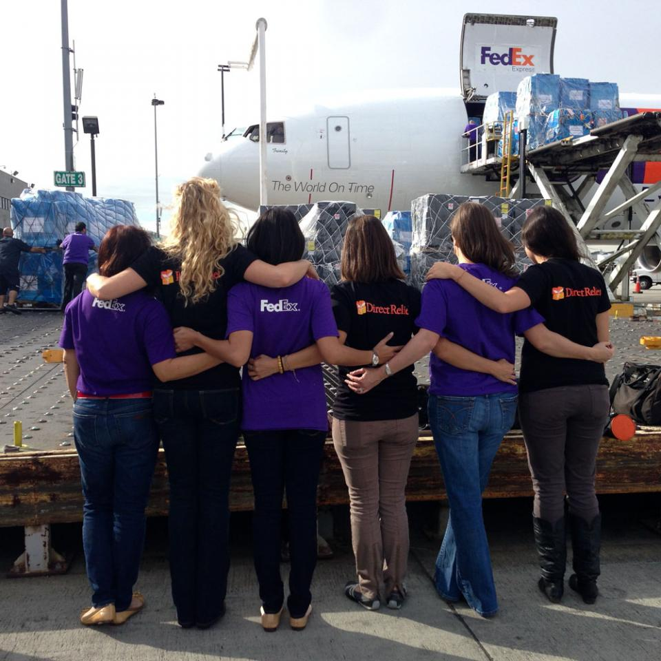 FedEx Cares Direct Relief