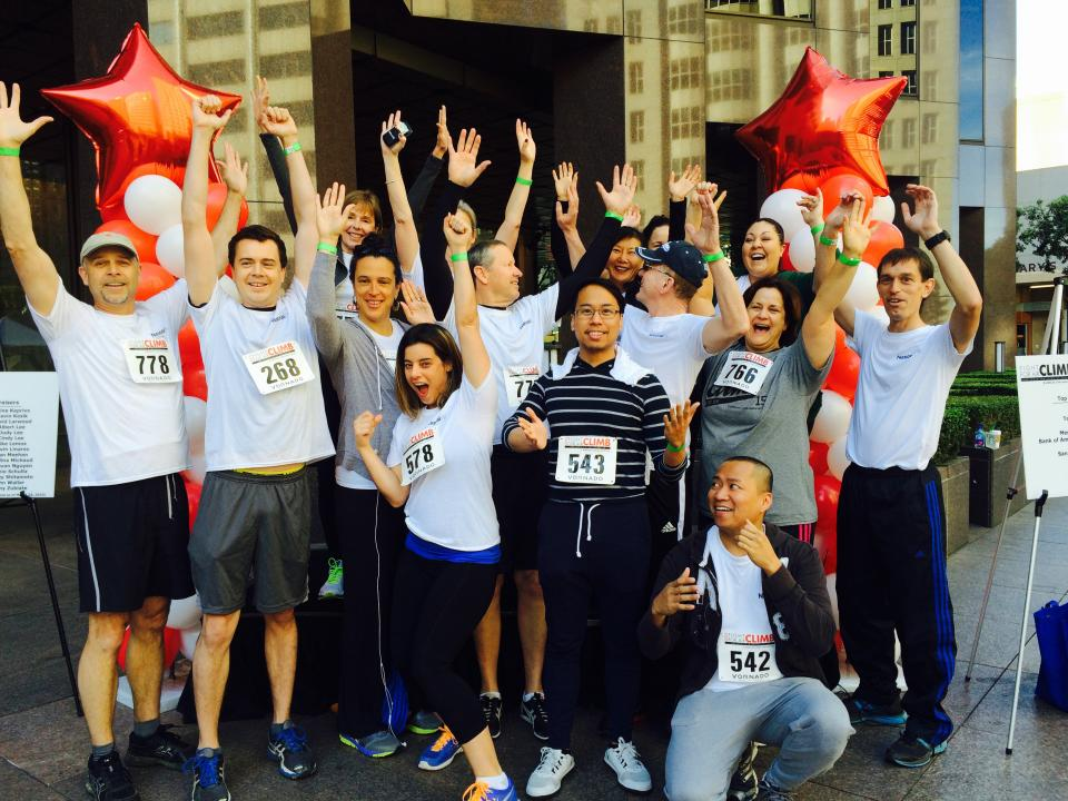 National MI team participating in American Lung Association