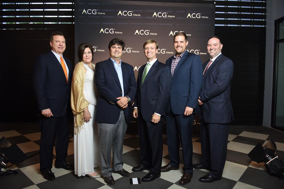 The Management Team celebrates at the Georgia Fast 40 Awards Dinner and Gala where REPAY was recognized as one of the 40 Fastest-Growing Companies in Georgia