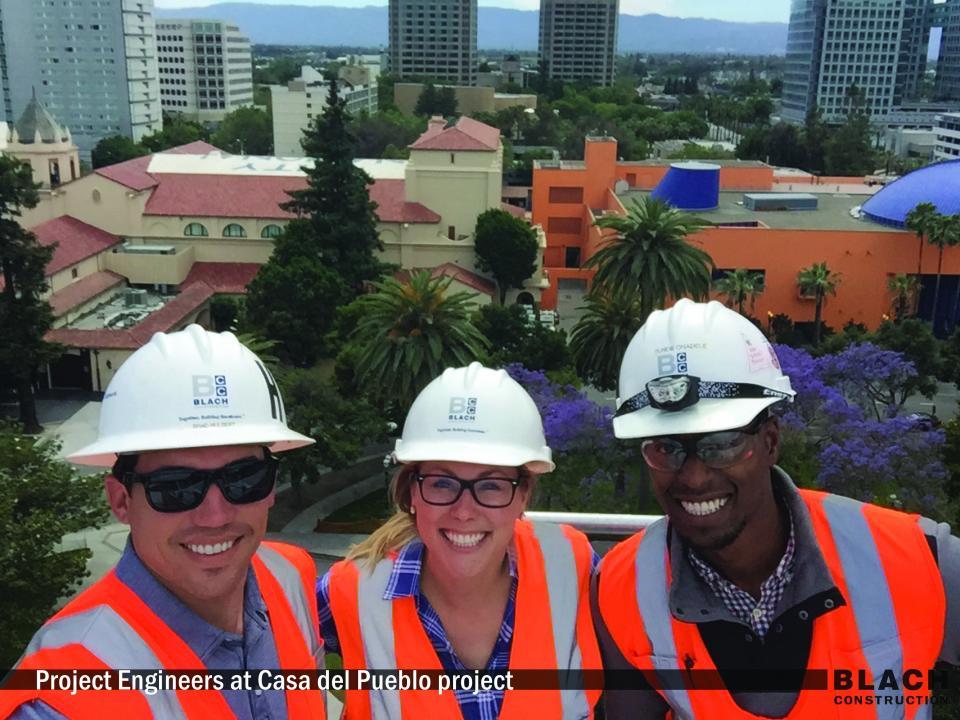 Project Engineers at Casa del Pueblo Project