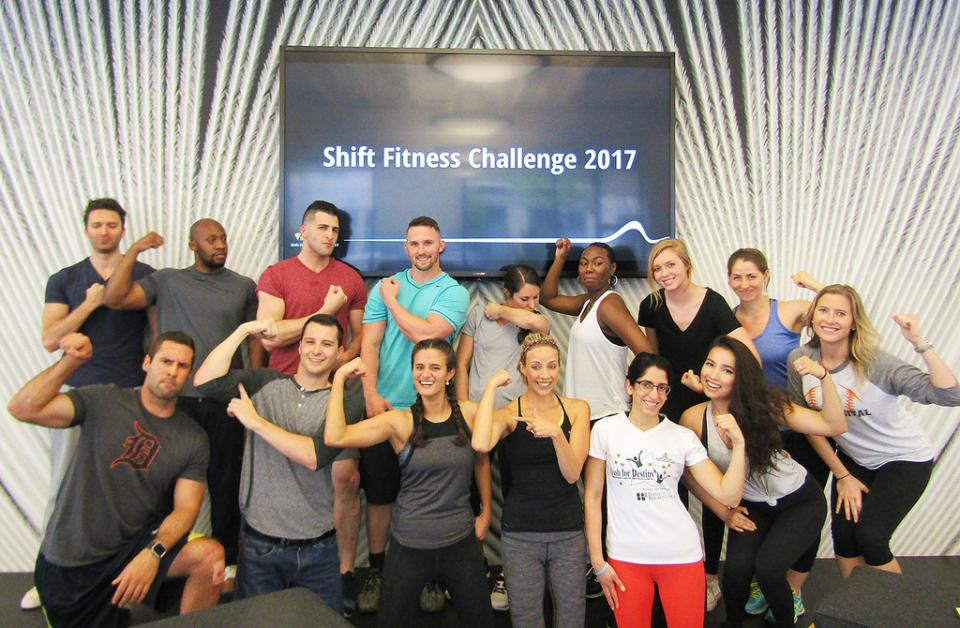 Our Annual fitness challenge gets our employees pumped up