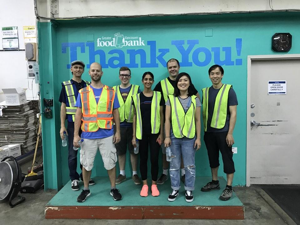 Sauce Labs Foodbank Volunteers