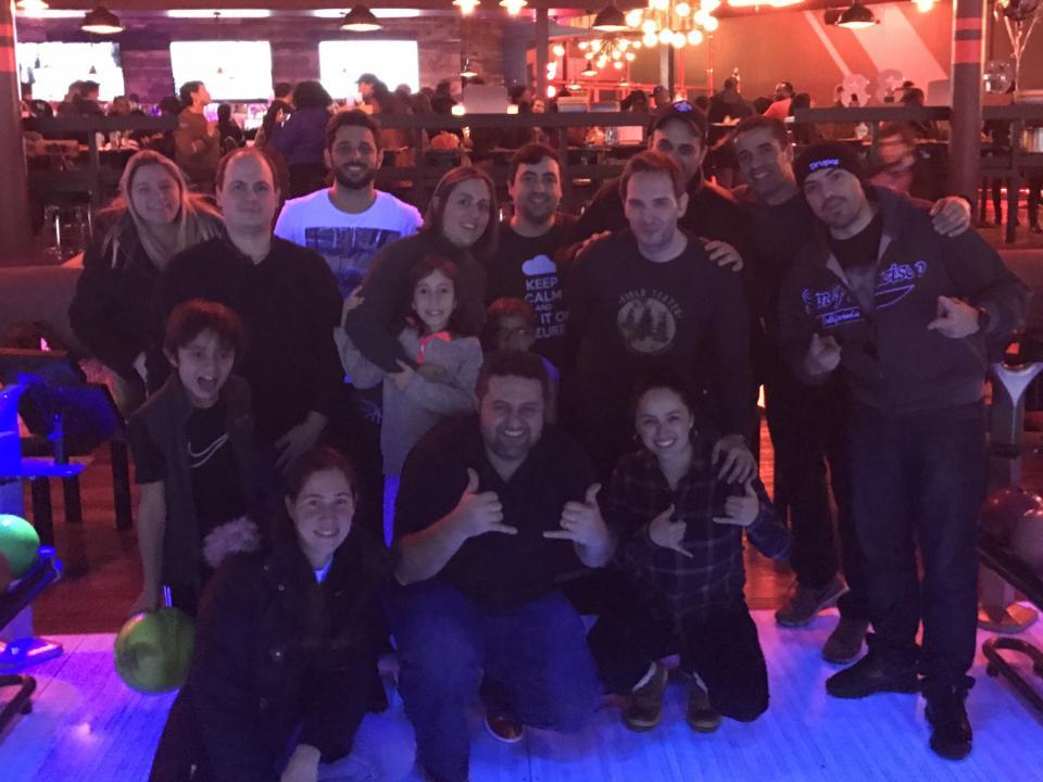 CI&T NJ Goes Bowling