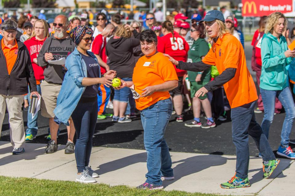 One of our favorite causes – and most-anticipated volunteer opportunities – is the Special Olympics. Here, employees from our Idaho plant volunteer their time to lend support and encouragement to the athletes on their big day.