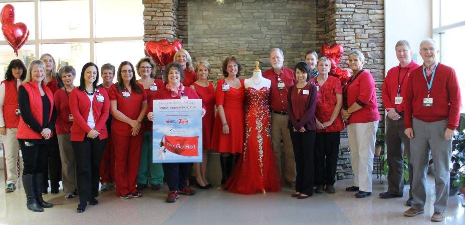 Go Red for Heart Health @ Transylvania Regional