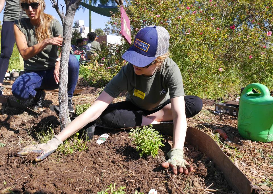 Earth Day volunteering