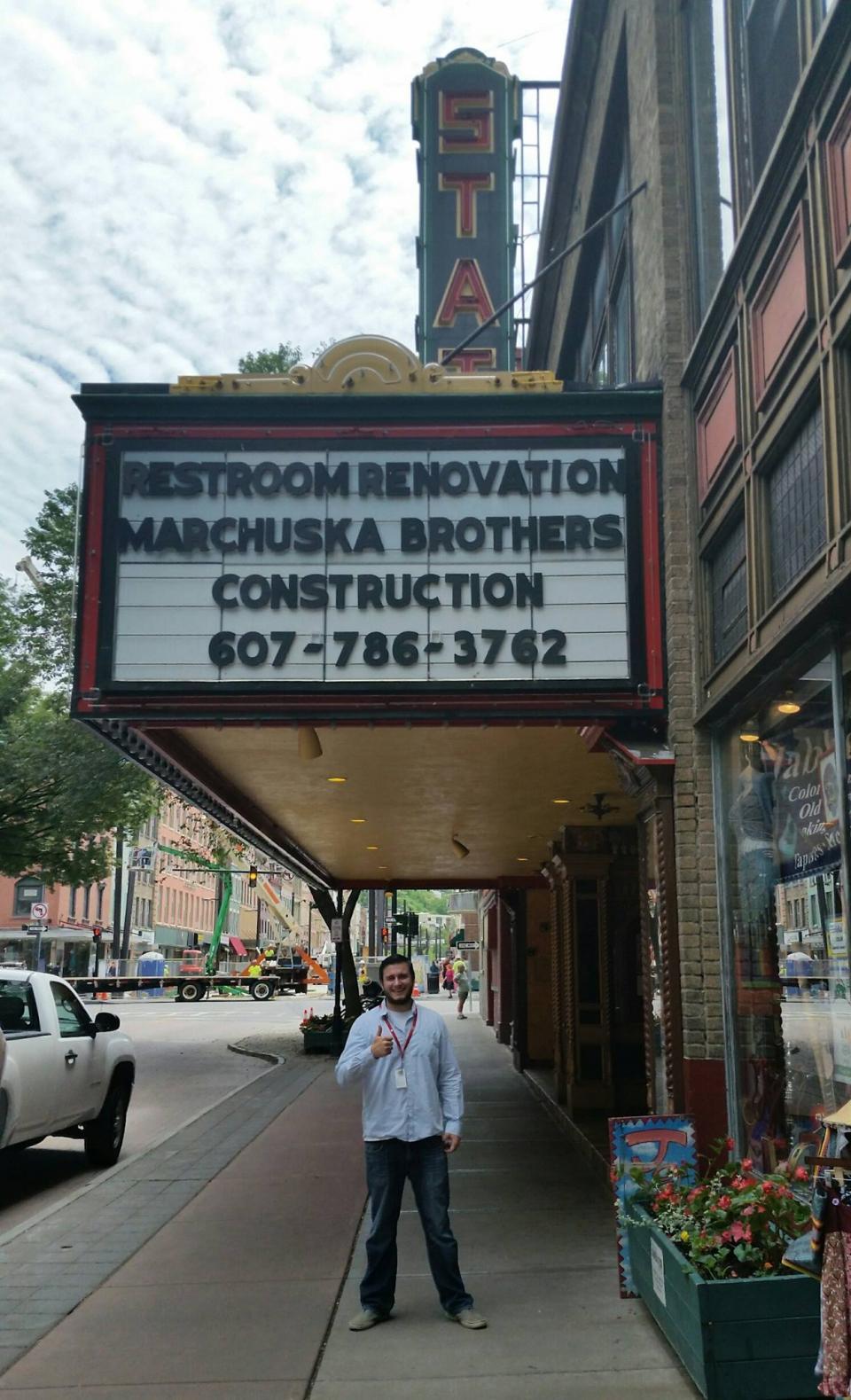 Historic theater renovation Ithaca, NY