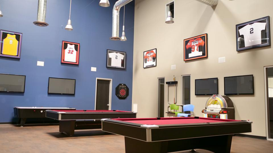 GeoLinks Game Room at Camarillo Headquarters