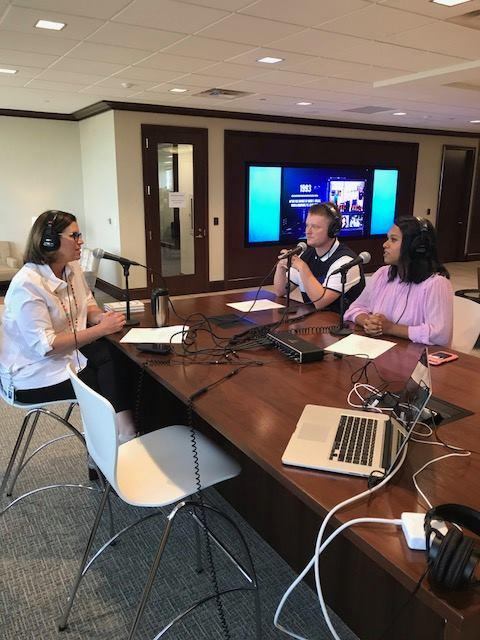 Chief Operating Officer Ginny Kissling joined by two interns for her podcast on National Intern Day.