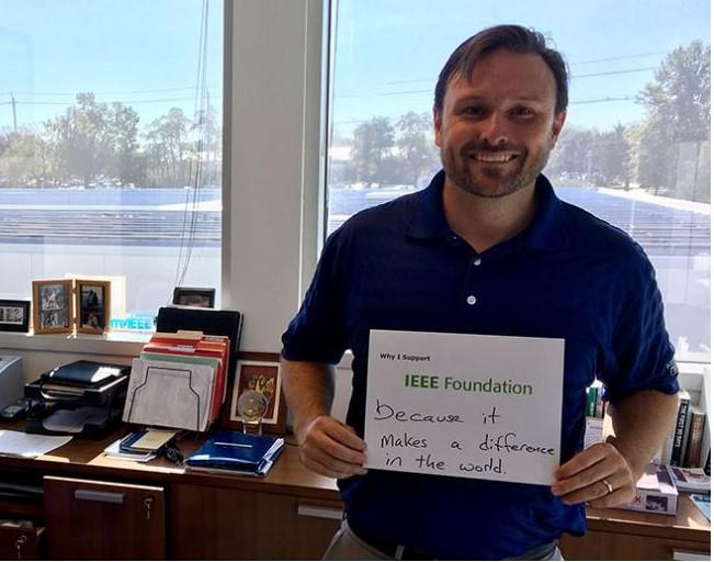 'Celebrating Giving Tuesday': Why I donate To IEEE Foundation - Employee proudly shares what inspires him to support the program close to heart.