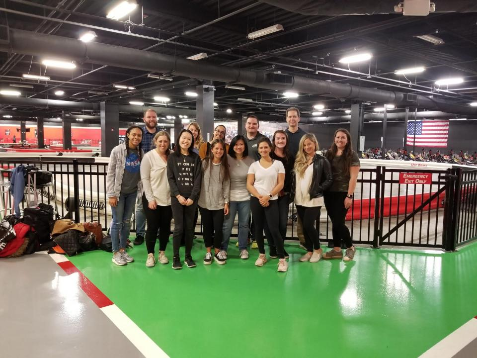 A Little Competitive Go Karting