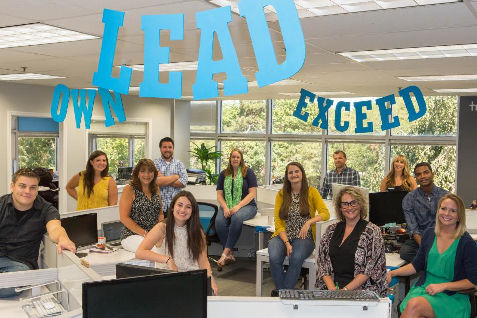Core Value #1 - Lead. Own. Exceed.