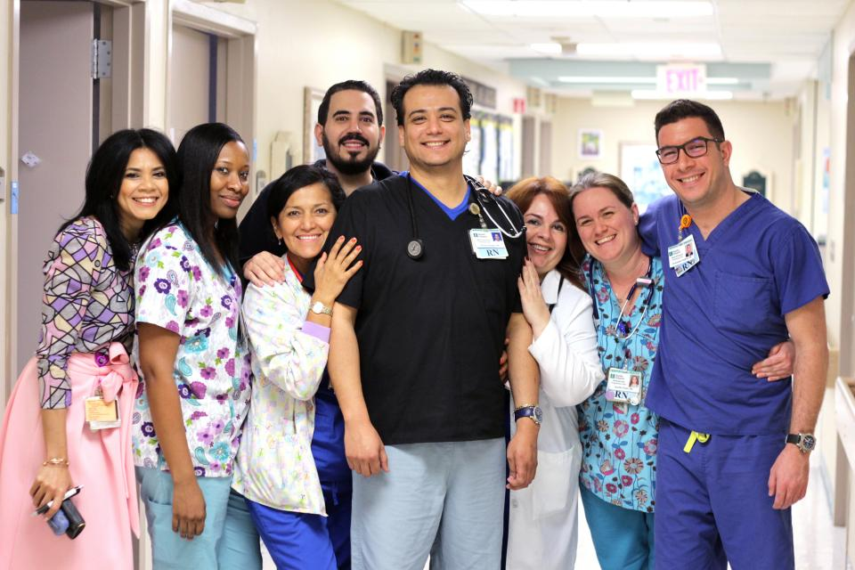 Group of Employees at Baptist Hospital of Miami