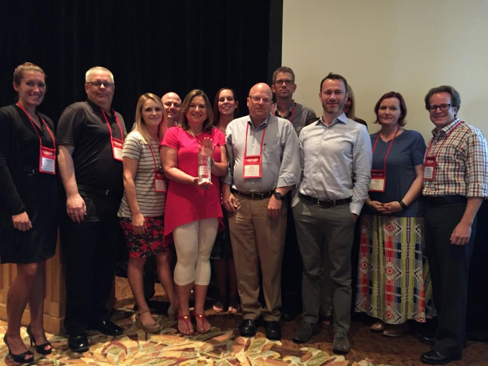 Our implementation team was honored to be named Ultimate Software's